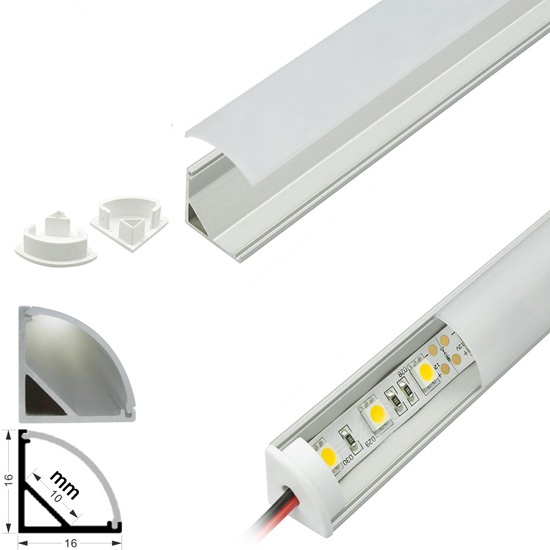 Led Strip Lights 5v 12v 24v A13 Corner Channel
