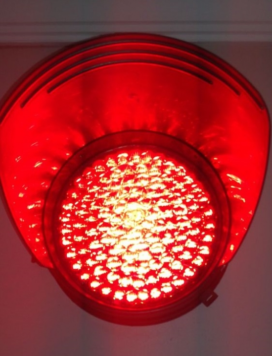 Led Outdoor Lighting Red Signal Light 200mm