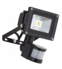 Floodlight, LED 10W PIR motion sensor
