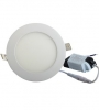 14W Round Panel Light Warm White, Incl Driver