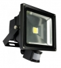 Floodlight, LED 50W PIR motion sensor