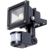 Floodlight, LED 10W PIR motion sensor 12V-DC