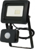 Floodlight, LED 10W PIR motion sensor Slimline