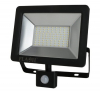 Floodlight, 50W Slim SMD LED with PIR Motion Sensor