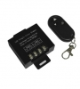 12V-DC 20A Black RF dimmer with remote