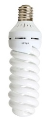 85W E27 CFL - Full Spiral Daylight