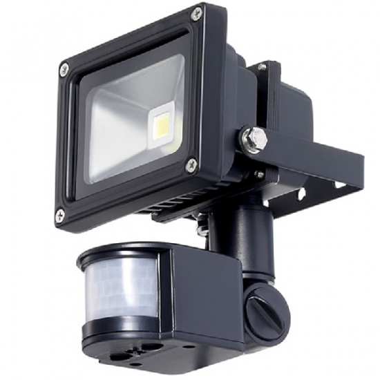 Led Outdoor Lighting Floodlight 10w Pir Motion Sensor 12v Dc